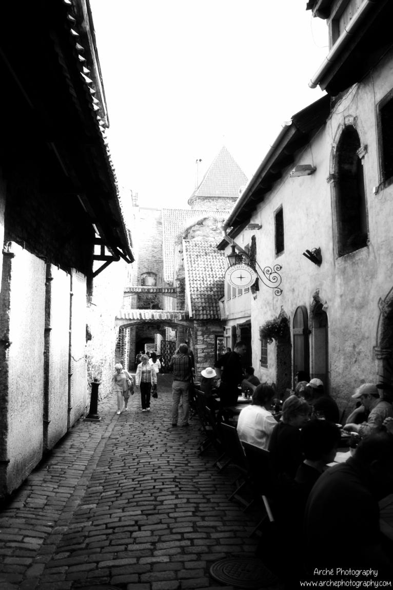 Estonia, Tallin old town 2013