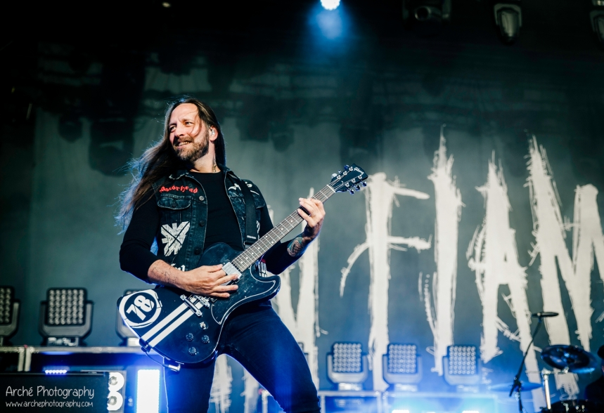 In Flames at Tuska Helsinki 2015