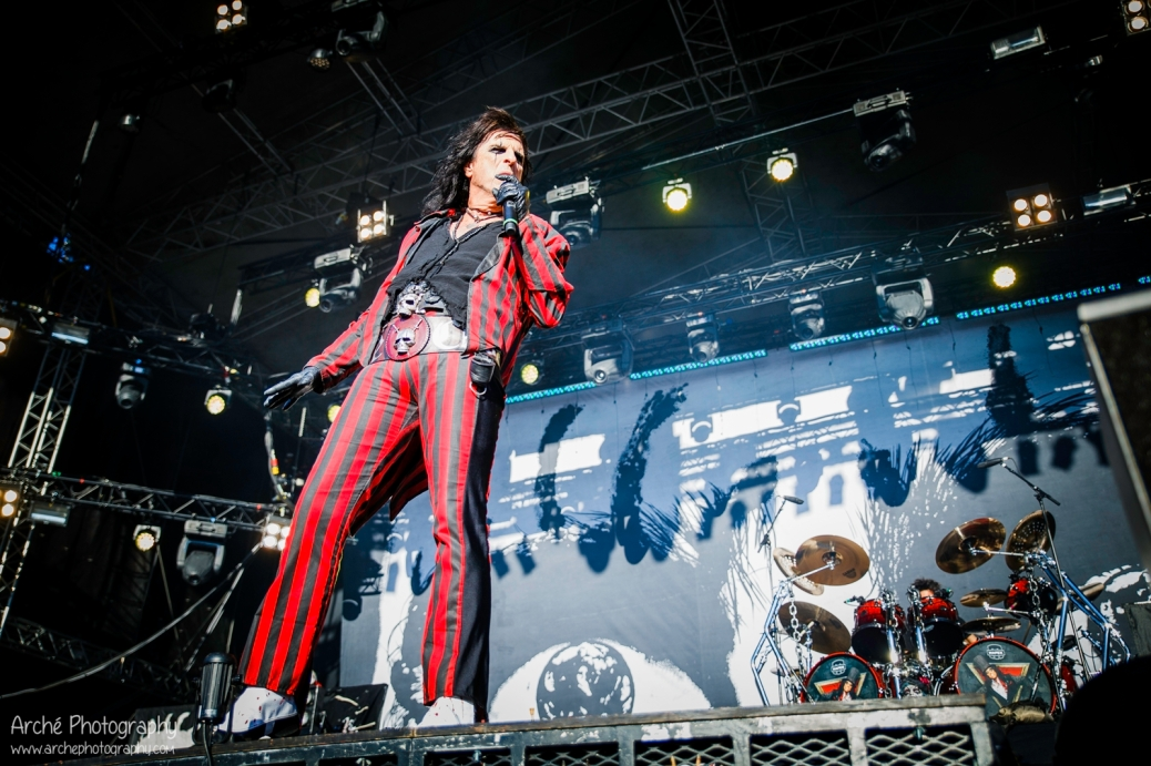 Alice Cooper at Tuska, FI 2015