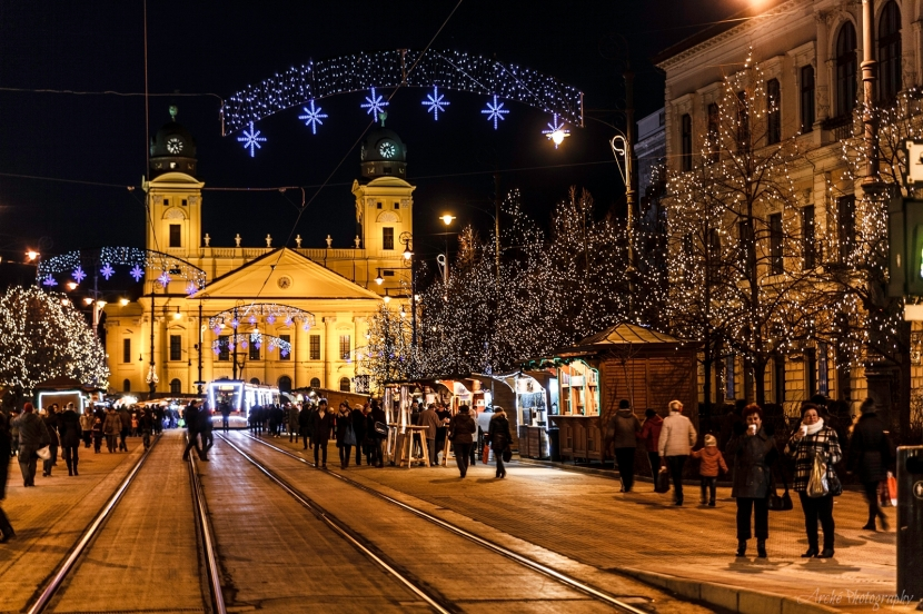 Debrecen Hungary, Christmas market