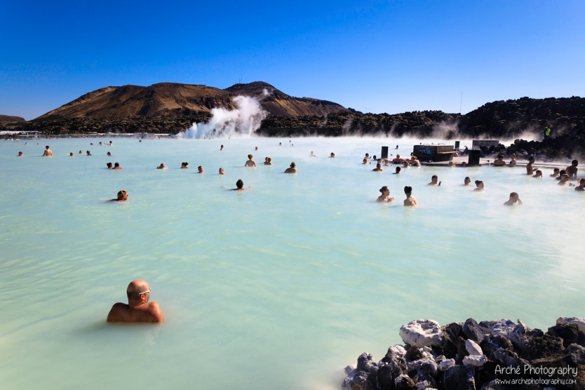 the Amazing Blue Lagoon in Iceland