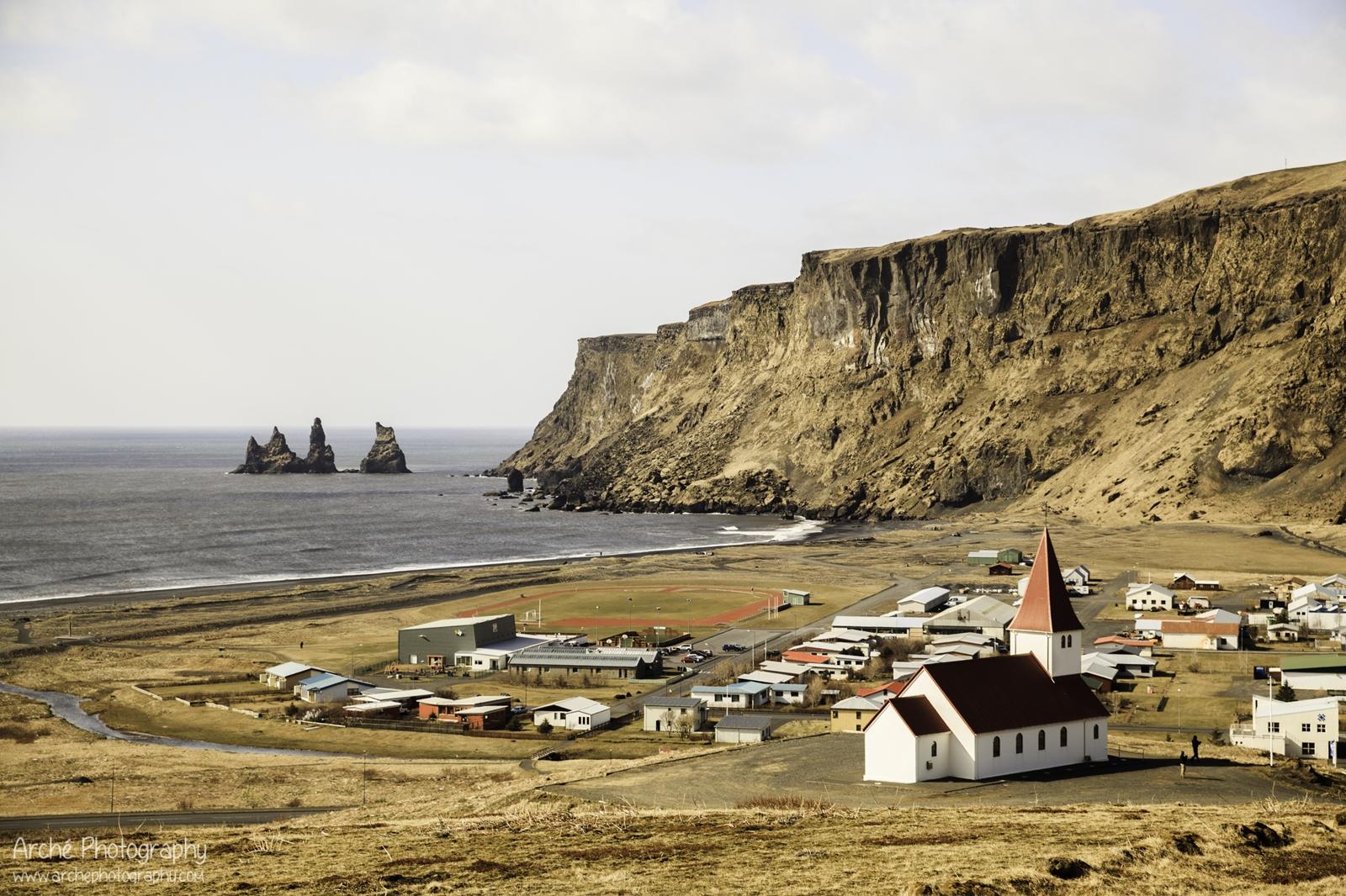 Vík in Iceland 2015