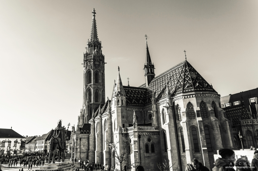 Mátyás Templom - Matthias Church at Budapest