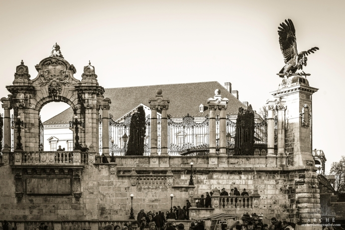 a part of Buda Castle