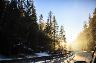 on the road from Tatras- Hungary
