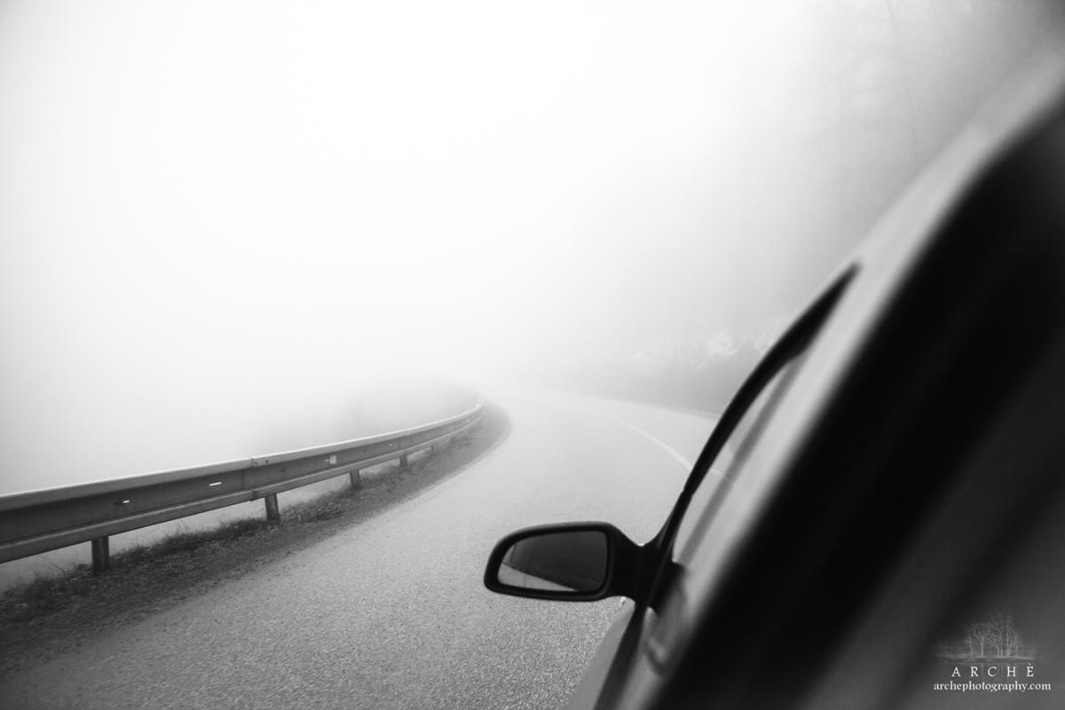 Fog at Hungary