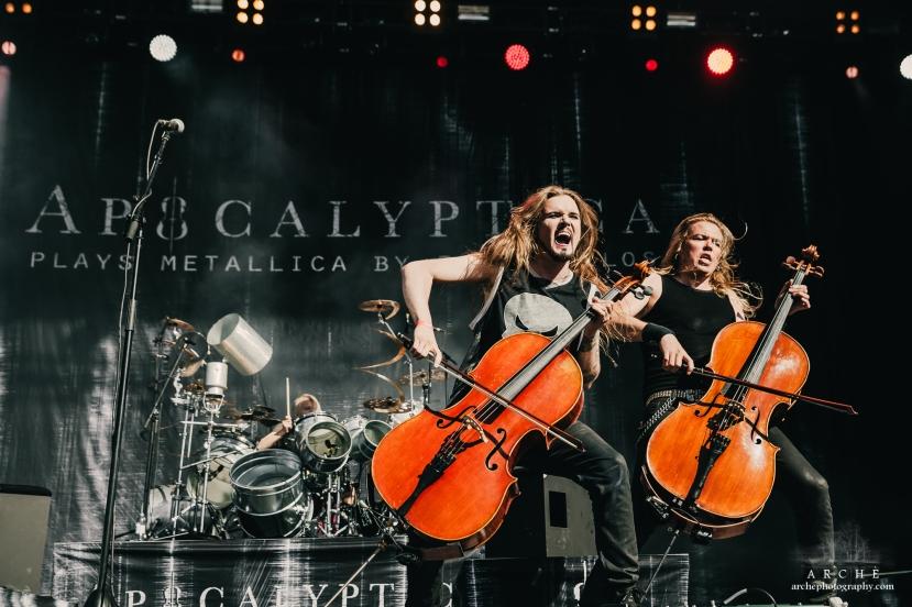 Apocalyptica at Tuska 2017