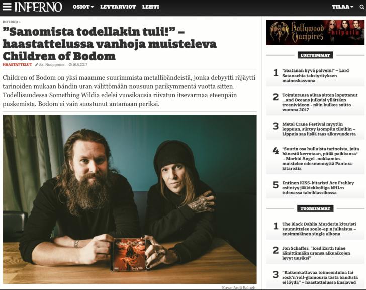 Inferno/ Children of Bodom